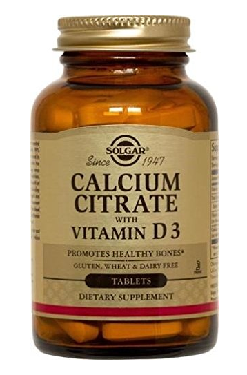 Solgar Citrate with Vitamin D3