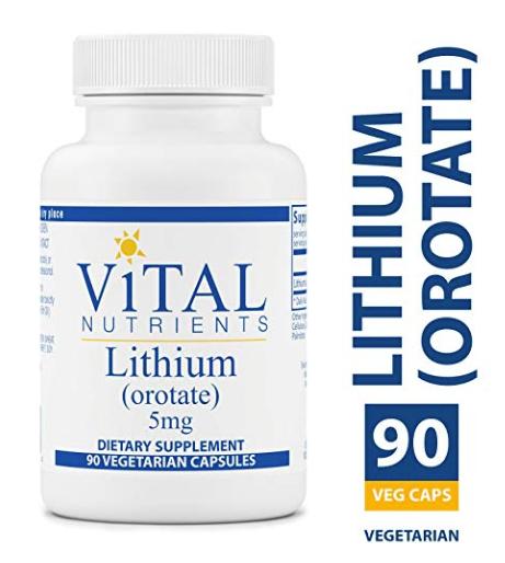 Vital Nutrients Lithium Orotate