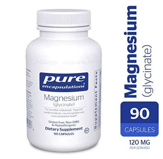 Pure Encapsulations Magnesium Glycinate.
