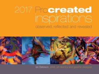 Ian Bateson's 2017 art compilation