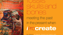 "Published, ""fossils skulls and bones""."