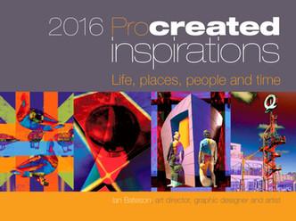2016 Procreate art published