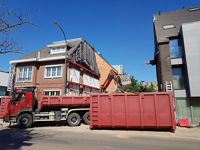 Container steenpuin