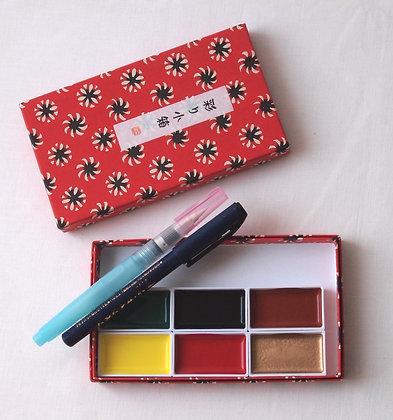 Gansai Water Colour Set