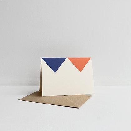 Building Blocks Triangle Card