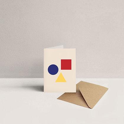 Mini Shapes Card