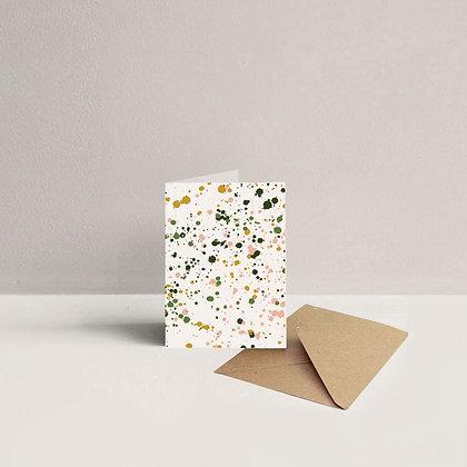 Mini Splatter Card