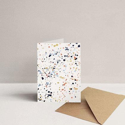 Splatter Card