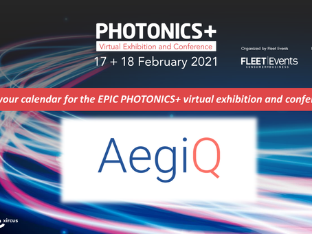 Save the date: AegiQ at Photonics+
