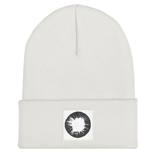 El Monte Sagrado Adult Beenie (White)