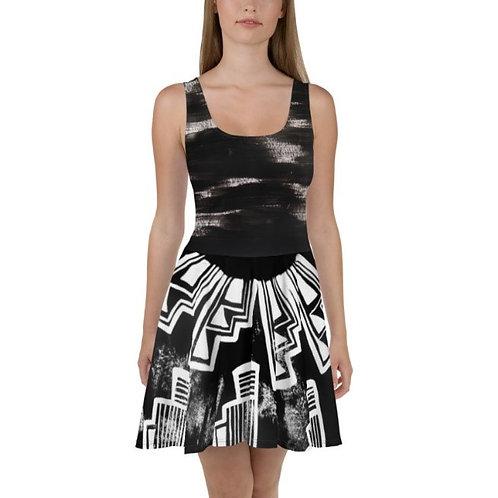 Chaco Inspired Skater Dress