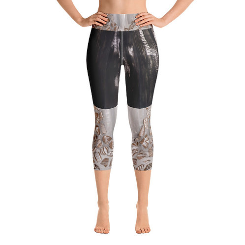 Pottery Sherd Canyon Capri Leggings