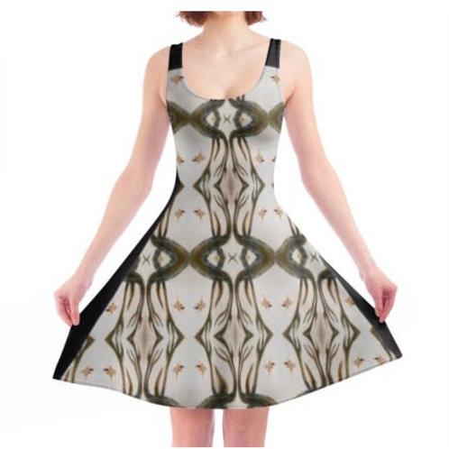 Monte Sagrado Inspired Skater Dress