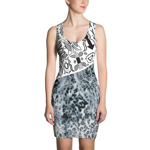 Eldorado Inspired Jersey Fitted Dress