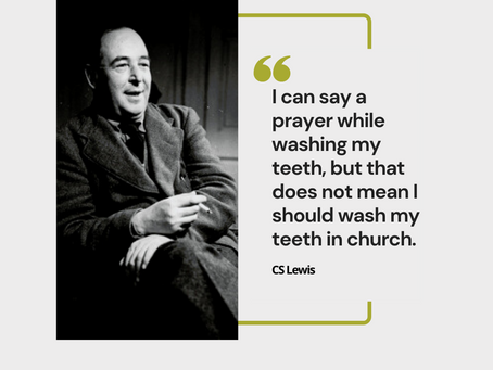 'Do I need to go to church if I am a Christian?'