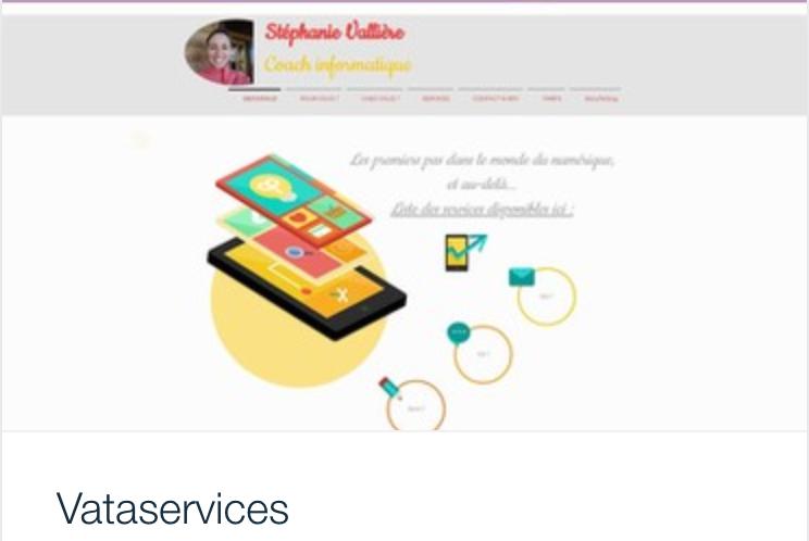 Exemple site web Vata Services premiers pas débutants informatique, Vata.png
