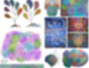 Ecran accueil site web album vata design