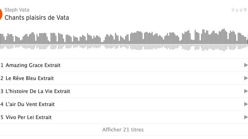 Soundcloud chants Vata
