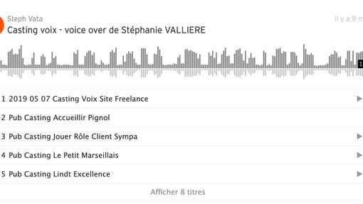 Soundcloud voice over Vata
