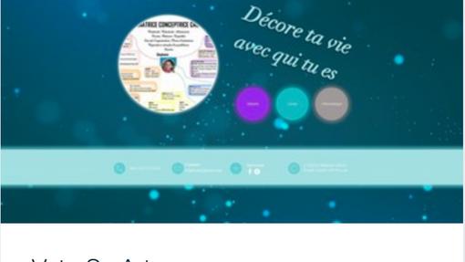 Exemple site web personnel passions, Vata.png