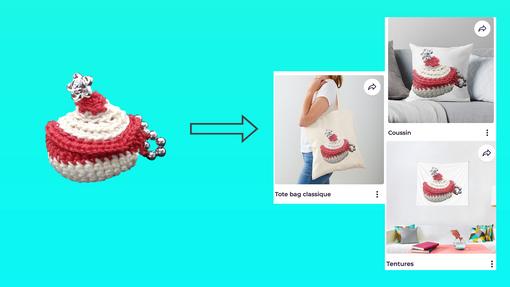 Transformation numérique création crochet