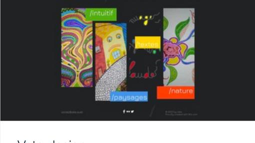 Exemple site web portfolio artiste, Vata.png
