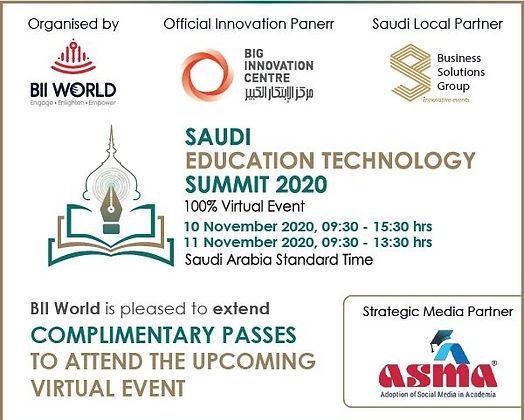 Saudi Education Summit