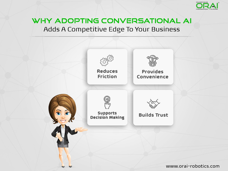 Why Adopting Conversational AI Adds A Competitive Edge To Your Business