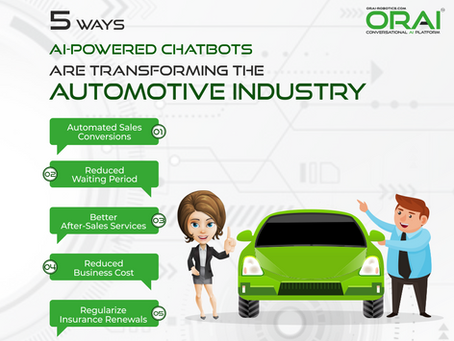 5 Ways AI-Powered Chatbots Are Transforming The Automotive Industry