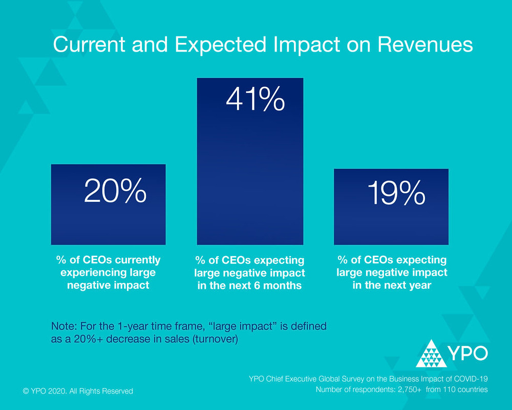 Current and Expected Impact on Revenues by YPO