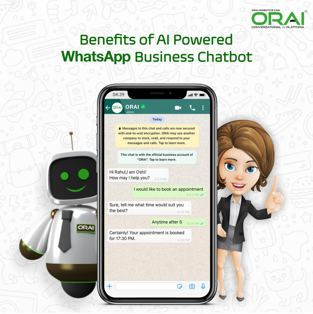 Whatsapp Chatbot for Business