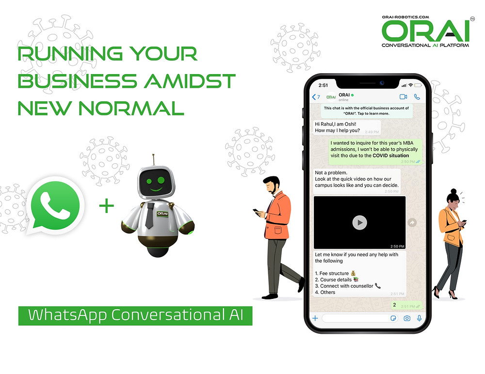 WhatsApp Conversational AI Perfect Combination To Run Your Business Amidst Covid -19