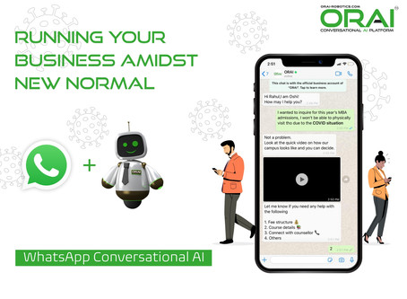 WhatsApp And Conversational AI: A Perfect Combination To Run Your Business Amidst New Normal