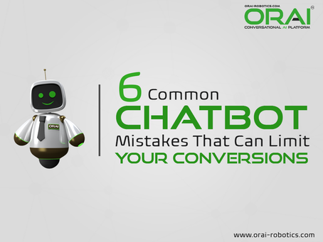 6 Common Chatbot Mistakes That Can Limit Your Conversions