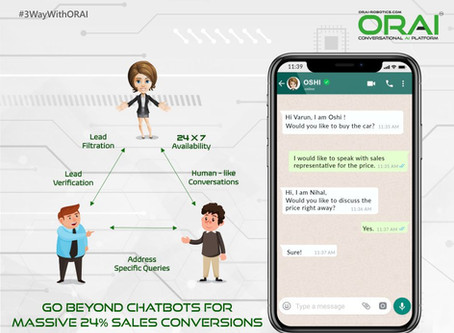 3-Way Conversations: Go Beyond Chatbots For Massive 24% Sales Conversions