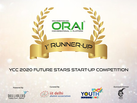 [Award Announcement]: IIT Delhi Alumni Association Rewards ORAI For Amplifying Business Performance