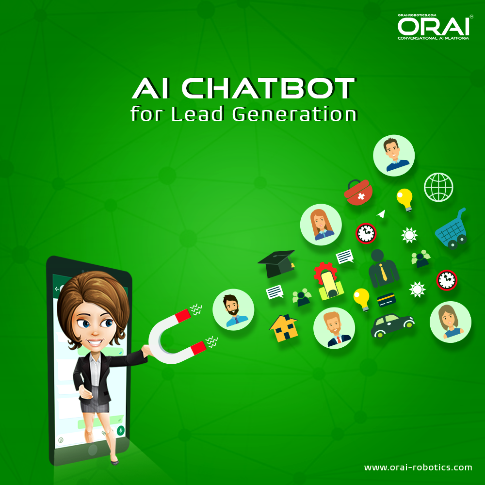 Orai Provides a perfect combination of lead generation strategy and an AI chatbot.