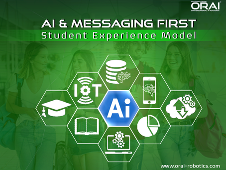 An AI-and messaging-First Model For Student Experience