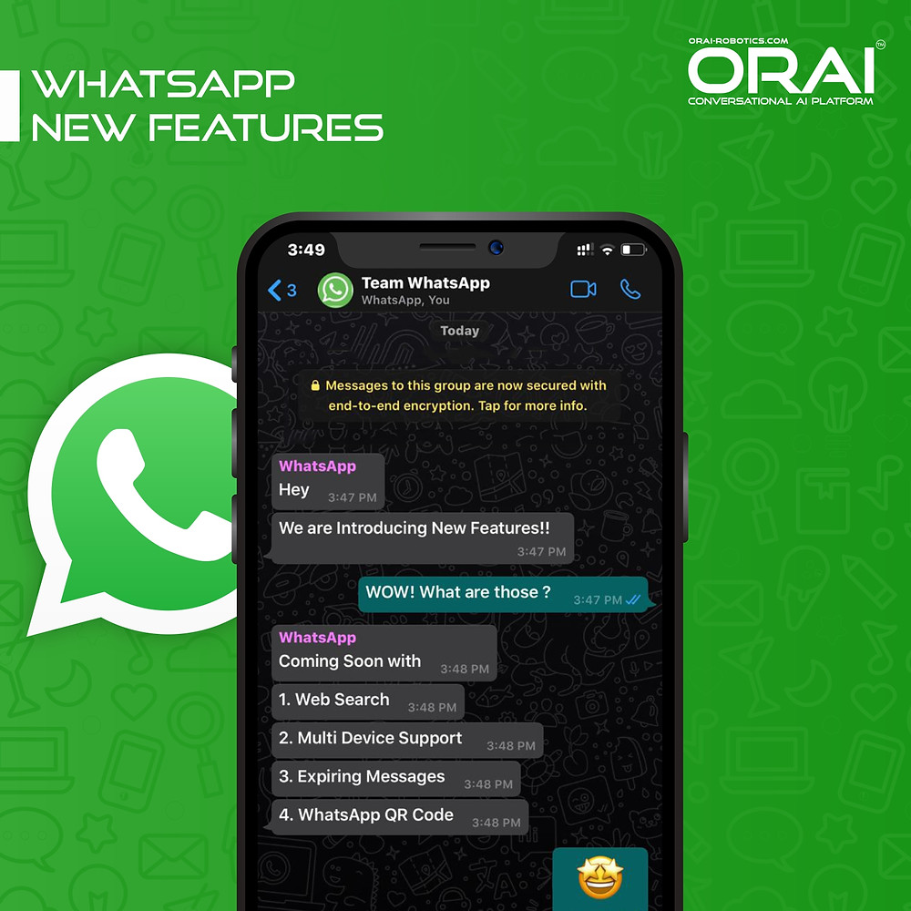 Exciting WhatsApp New Feature 2020