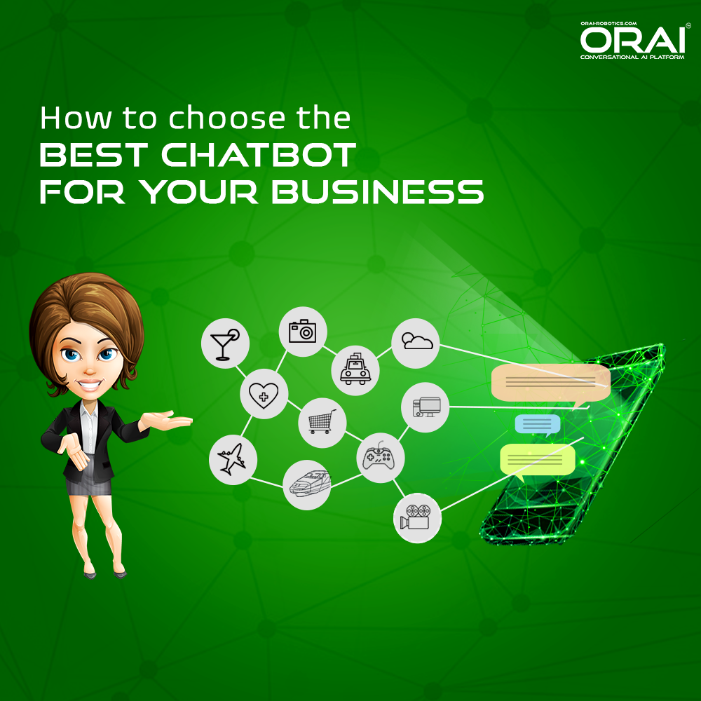 ORAI Chatbot for different kind of business