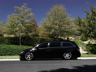 2014 Honda Odyssey on Concept One CSM-5 wheels