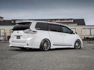 Larry's Toyota Sienna on Concept One CS-16 wheels