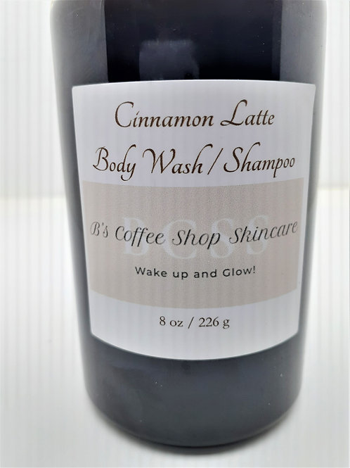 Cinnamon Latte Body Wash/Shampoo