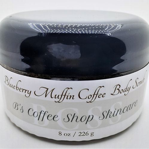 Blueberry Muffin Coffee Body Scrub 8oz