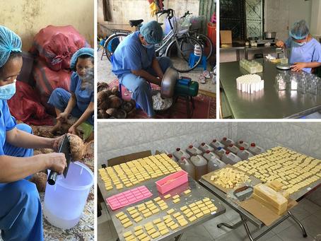 Site Visit: Coconut social enterprise in cambodia