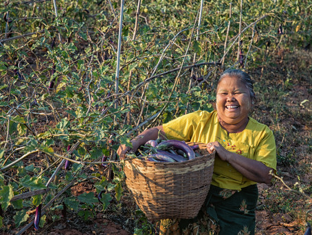 Engaging Women Farmers - The Helicopter Story