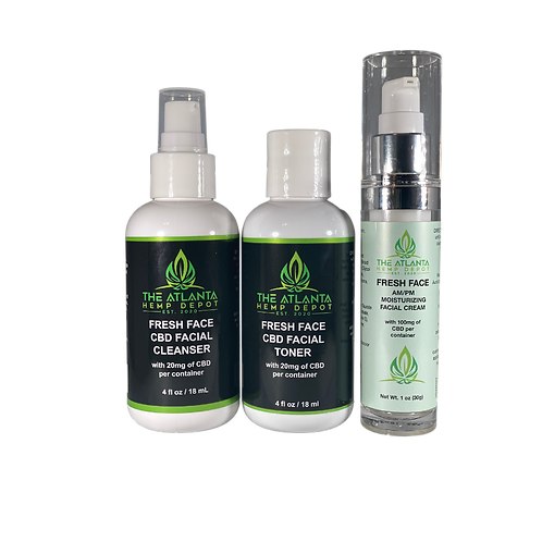 """The """"Fresh Face"""" CBD Skincare Collection"""