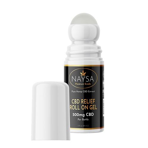 Relief Roll On Gel with 500mg CBD