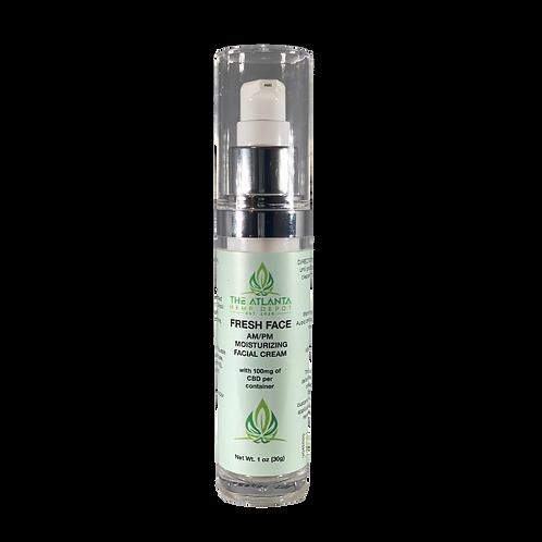 100mg CBD AM-PM Moisturizing Face Cream