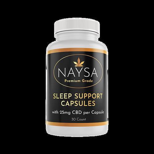 Sleep Support Capsules with 25mg CBD